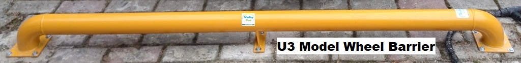 Teker Bariyer _Teker Durdurucu - Wheel Stopper -Tire Barrier _U-Model_Tire-Tyre-Barrier-Stopper -Teker Bariyer_UB3
